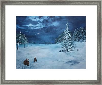 Silent Night Framed Print by Jean Walker