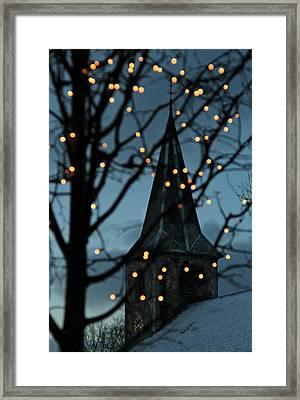 Silent Night Framed Print by Odd Jeppesen