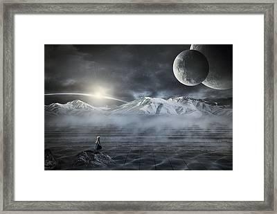 Silent Rise Framed Print