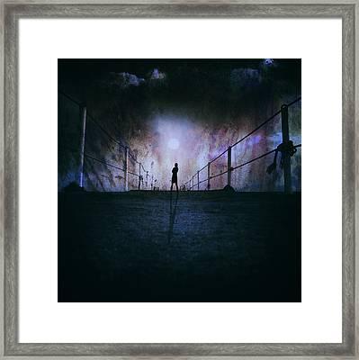 Silent Scream Framed Print by Stelios Kleanthous