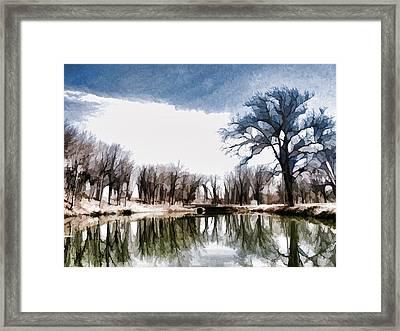 Silent Shadows Framed Print by Tom Druin