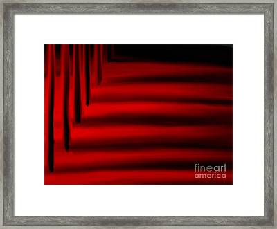 Silent Trees Framed Print by Anita Lewis