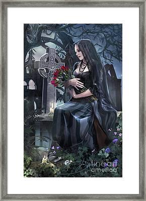 Silent Whispers Framed Print by Drazenka Kimpel