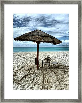 Silently Waiting Framed Print