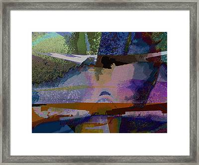 Framed Print featuring the photograph Silhouette And Shadows by David Pantuso