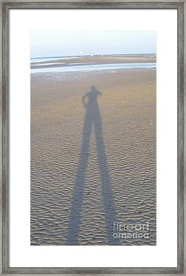 Framed Print featuring the photograph Silhouette II by Nereida Rodriguez