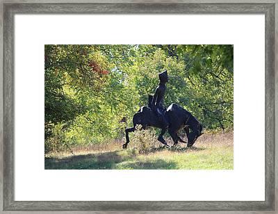 Silhouette  Framed Print by JB Stran