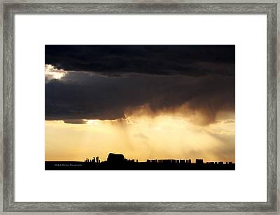 Silhouette Framed Print by Michele Richter