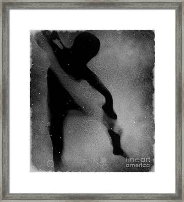 Silhouette Of An Oddity Framed Print by Jessica Shelton