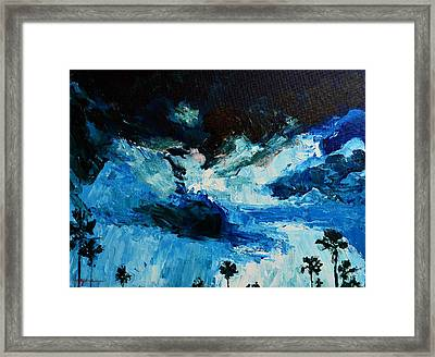 Silhouette Of Nature II Framed Print by Patricia Awapara