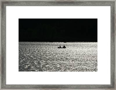 Silhouette Of Tears Framed Print by Neal Eslinger