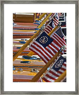 All That Is The Fourth Framed Print by Steven Lapkin