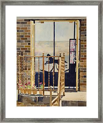 Silhouette Framed Print by Terry Holliday