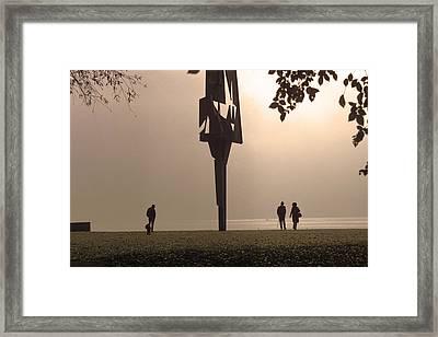 Silhouettes I Framed Print