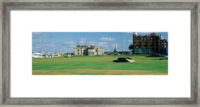 Silican Bridge Royal Golf Club St Framed Print