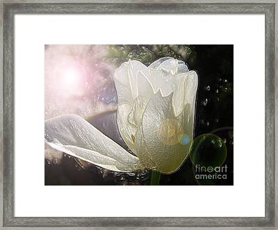 Siliconic Surreality Framed Print by Roxy Riou
