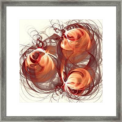 Silk Labyrinth Framed Print