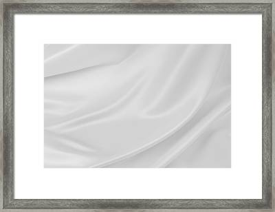 Silk Framed Print by Les Cunliffe