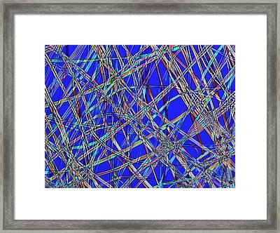 Silk Framed Print by Steve Lowry