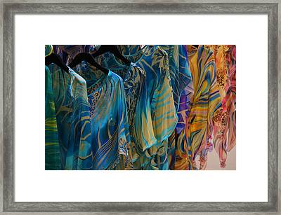 Silk Tops Framed Print