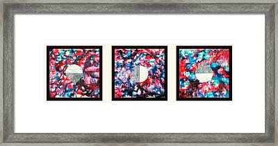 Silkworm Framed Print by Sumit Mehndiratta