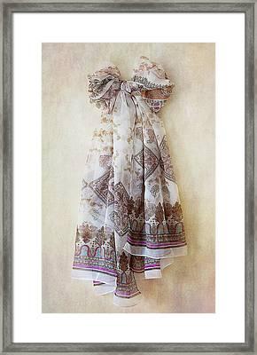 Silky Bow Framed Print by Svetlana Sewell
