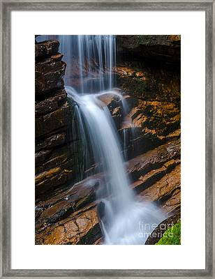 Framed Print featuring the photograph Silky Smooth by Mike Ste Marie