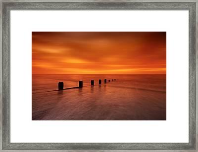 Silky Sunrise Framed Print by Mark Leader
