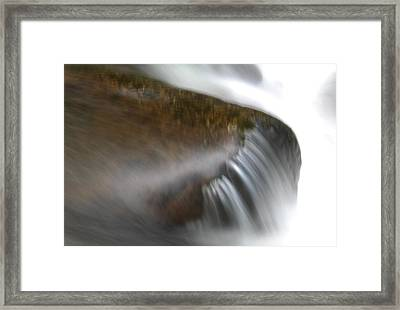 Silky Water Framed Print by Jeff Swan