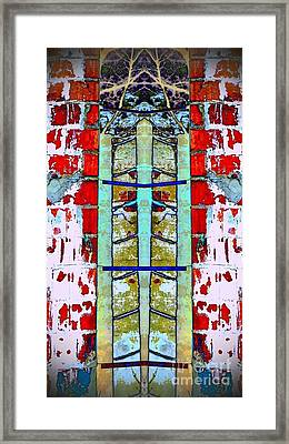 Silo Abstract 2 Framed Print