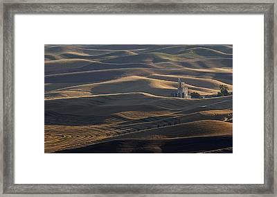 Steptoe Silo Framed Print
