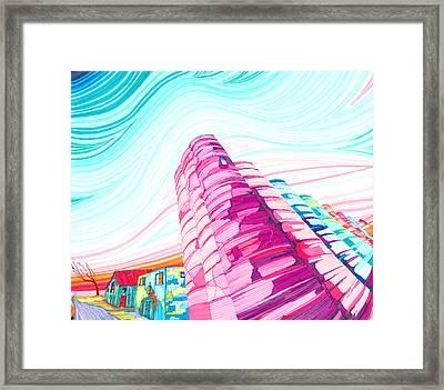 Silos II Framed Print
