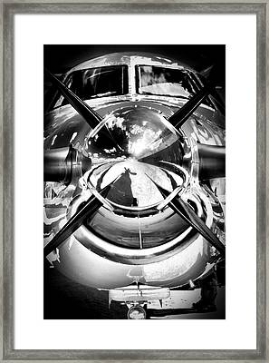 Silver 12 Framed Print by Paul Job