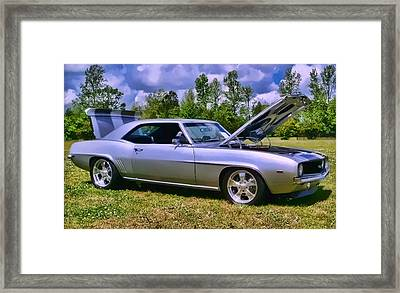 Framed Print featuring the photograph Silver 69 by Victor Montgomery