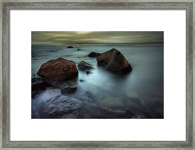Silver And Gold Framed Print by Jakub Sisak