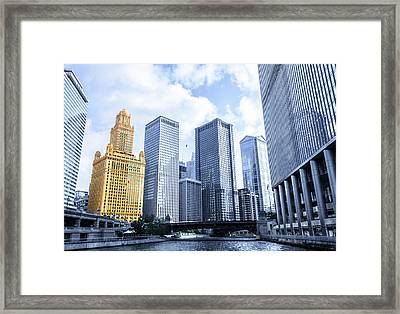 Silver And Gold Framed Print by Semmick Photo