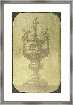 Silver Ceremonial Goblet, Eduard Isaac Asser Framed Print by Artokoloro
