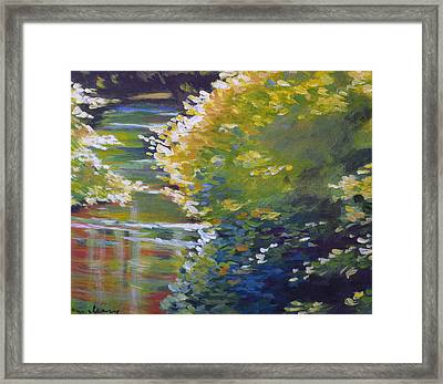 Silver Creek Foliage Framed Print