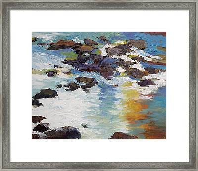 Silver Creek No. 5 Framed Print by Melody Cleary
