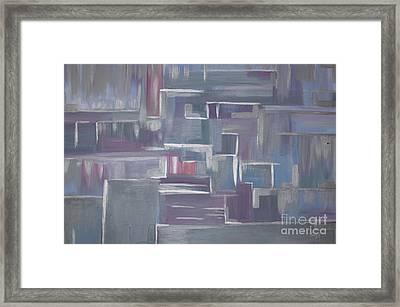 Silver Elegance Framed Print