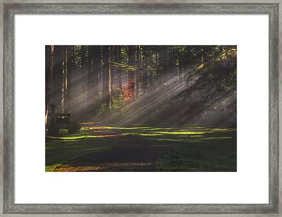 Silver Falls Historic District Framed Print
