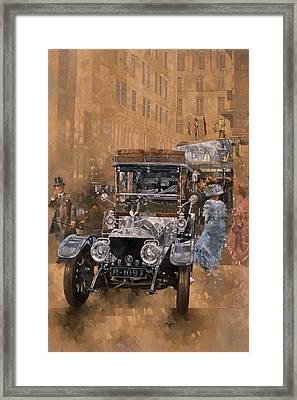 Silver Grace At The Savoy Framed Print by Peter Miller