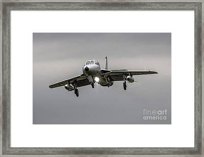 Silver Hunter Framed Print