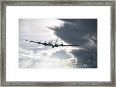 Silver Lining Framed Print by Peter Chilelli