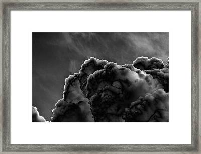 Silver Lining Framed Print by Thomas  MacPherson Jr
