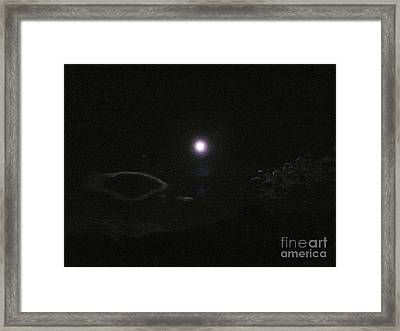 Silver Linings Framed Print by Jacquelyn Roberts