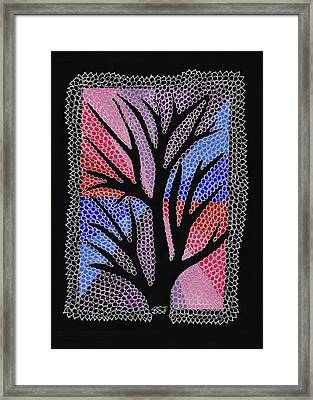 Silver Maple Framed Print by Barbara St Jean