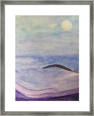 Silver Moon  Framed Print by Sonali Gangane