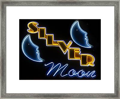 Silver Moons Framed Print by David Lee Thompson