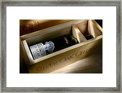 Silver Oak  Framed Print